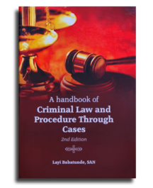 A Handbook of Criminal Law and Procedure Through Cases