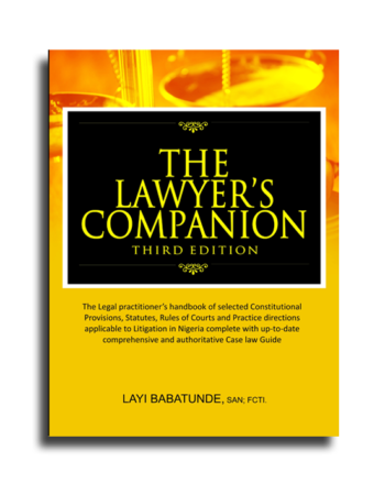 The Lawyer's Companion